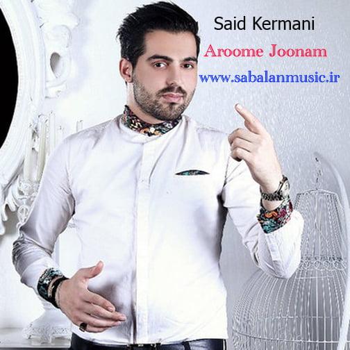 دانلود آهنگ شاد سعید کرمانی با نام آروم جونم