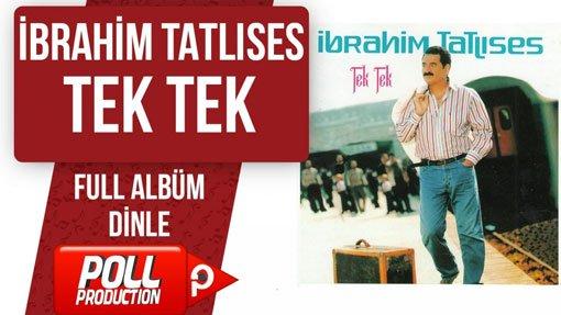 دانلود آلبوم خاطره انگیز ابراهیم تاتلس با نام tek tek