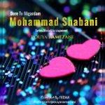 دانلود آهنگ جدید محمد شعبانی با نام دور تو میگردم
