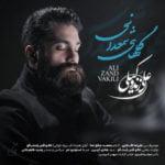 دانلود آهنگ جدید علی زند وکیلی با نام گلهای شمعدانی