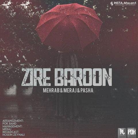 دانلود آهنگ جدید مهراب با نام زیر بارون