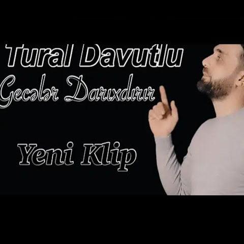 دانلود آهنگ ترکی و جدید تورال داووتلو با نام گئجه لر داریخدیریر