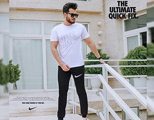 ست تیشرت وشلوار Nike مدل Andre