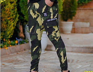 شلوار اسلش ارتشی مردانه مدل khofo